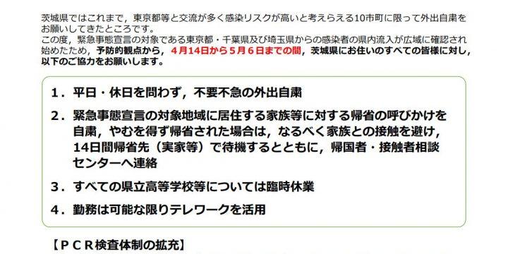 茨城県新型コロナウイルス